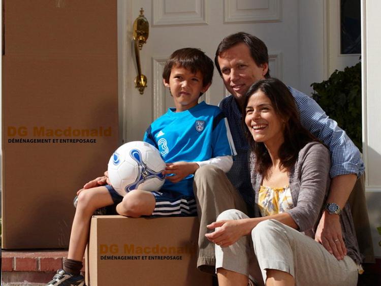 Services de déménagement locale pour les domiciles d'Ottawa-Gatineau DG Macdonald
