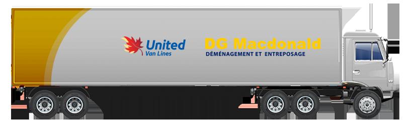 Camion de United Van Lines